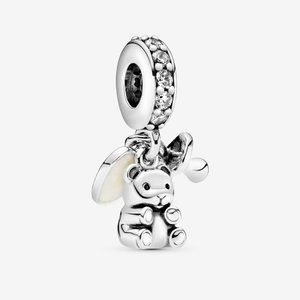 Pandora Baby Teddy Bear Dangle Charm